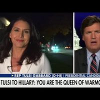 Stand with Tulsi against Clinton's new McCarthyism and warmongering