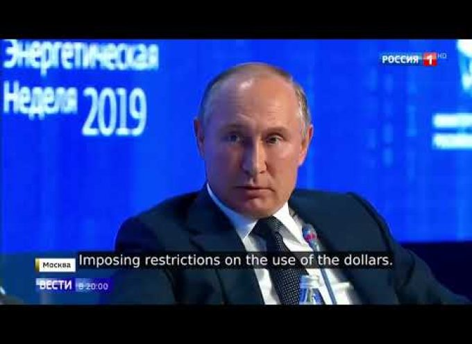 Putin announces the death of the dollar, and soon…