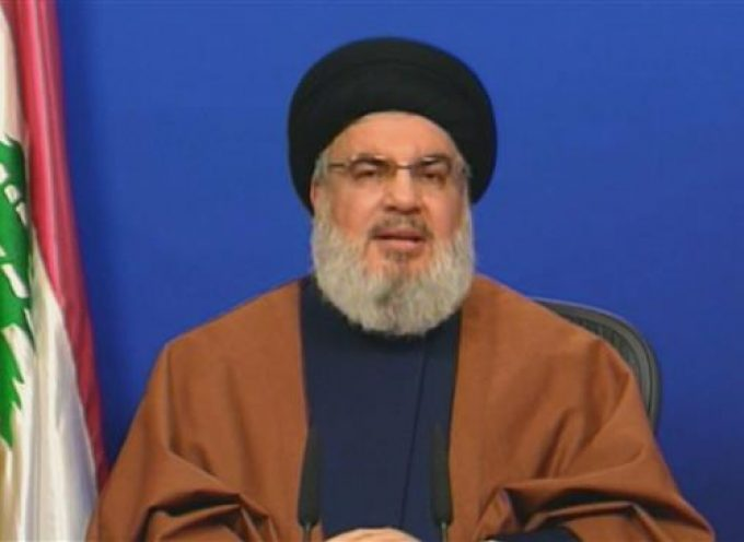 Hezbollah poses serious threat to US, Israeli schemes in Middle East: Nasrallah