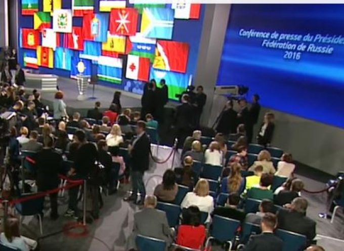 LIVE: Putin holds annual press conference in Moscow