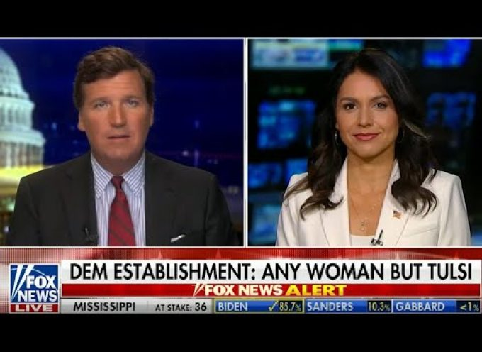 Why is Corporate Media trying to erase Tulsi?