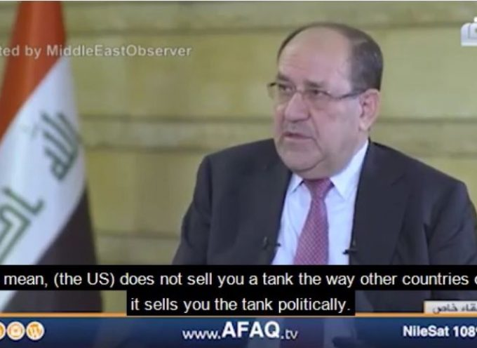 Fmr Iraqi PM: US refused to sell us arms, Russia opened its own stockpiles