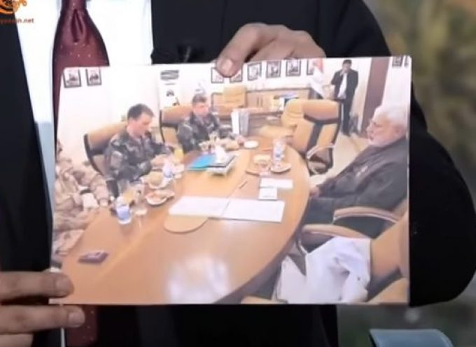 (Photos): Russian delegation presents Iraqi PMF's al-Muhandis with medal of honour