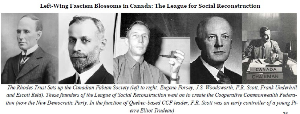 Left-Wing Fascism blossoms in Canada