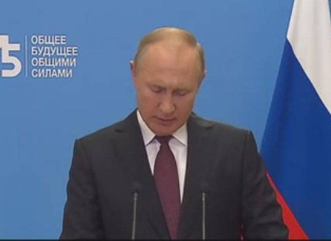 75th session of the UN General Assembly : President of Russia Vladimir Putin