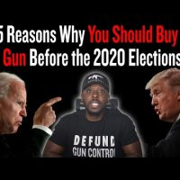 5 Reasons Why You Should Buy A Gun Before the 2020 Elections