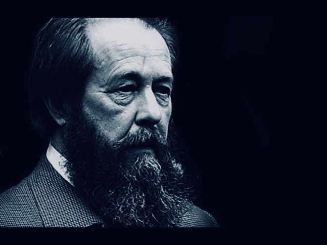 Aleksandr Solzhenitsyn at Harvard University, 1978 © YouTube