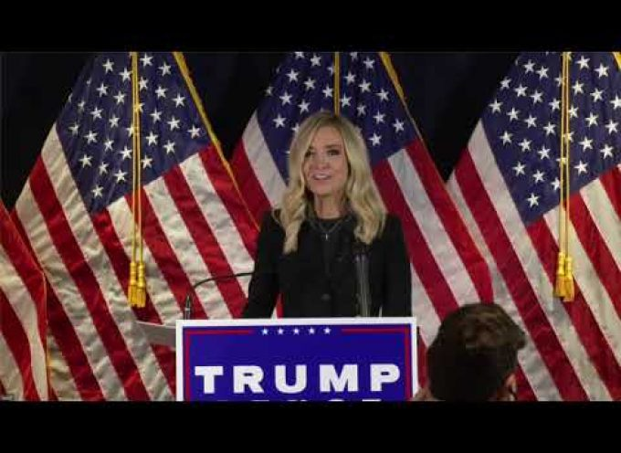 Press Conference with Kayleigh McEnany and RNC Chairwoman Ronna McDaniel