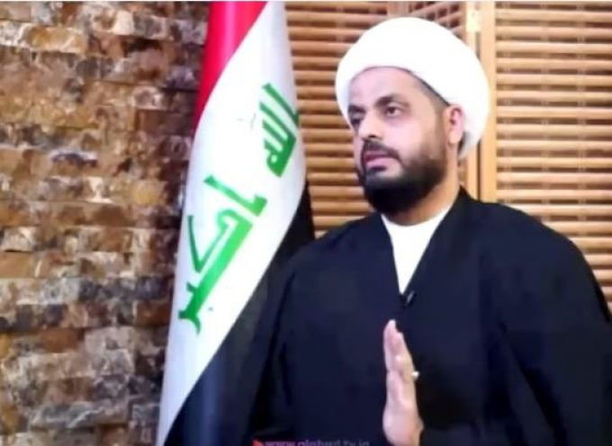 'Truce with US occupiers is now over': Iraq's Sheikh al-Khazali