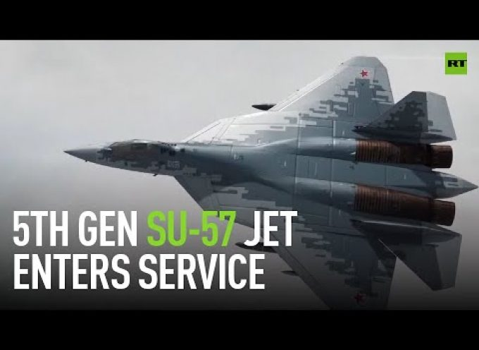 Su-57 is here – Russian 5th gen jet enters service