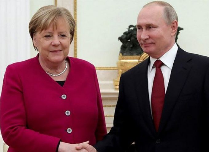Telephone conversation with Federal Chancellor of Germany Angela Merkel