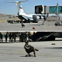 A very telling photo of Russian special forces at the Kabul airport