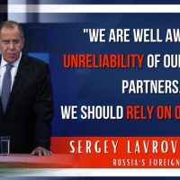 FM Sergey Lavrov answers media questions following a meeting of the Council of Ministers of the Union State, Minsk