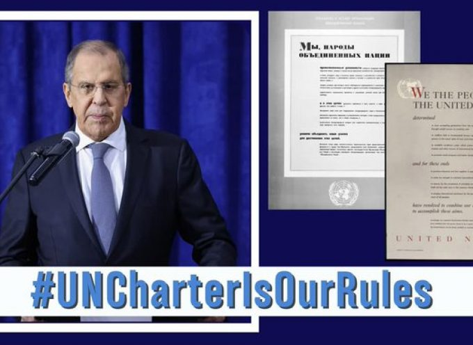 Russian Federation – Minister of Foreign Affairs Addresses United Nations General Debate