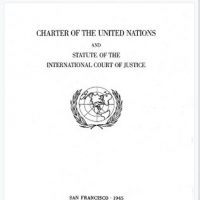 Political Declaration adopted during the first ministerial meeting of the Group of Friends in Defense of the Charter of the United Nations, New York, September 23, 2021