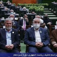 Iran's Raisi gave Resistance 'presidential' treatment at swear-in: Hezbollah's No. 2