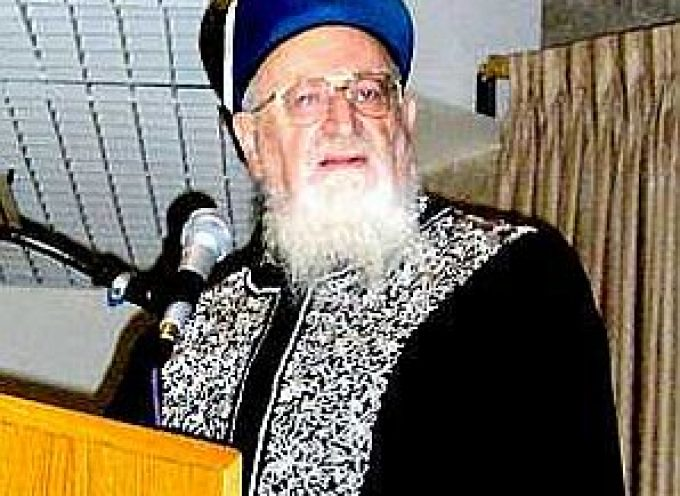 Former Sephardi chief rabbi calls for the carpet bombing of  1.4 millions Palestinians living inside the 135 square miles of Gaza strip