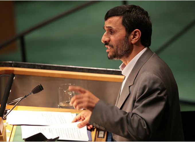 Full Transcript of Iranian President Ahmadinejad speech at the United Nations