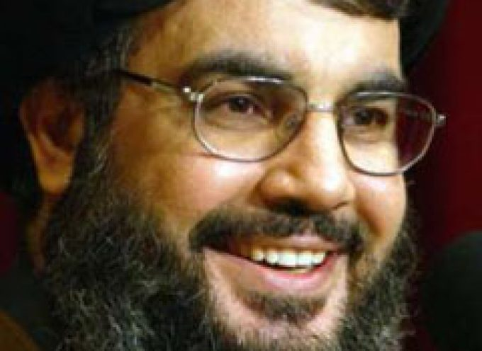 Hassan Nasrallah Warns Israel: All Options Are on the Table