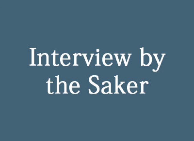 The Saker interviews Taimur – a Muslim student living in Indian controlled Kashmir