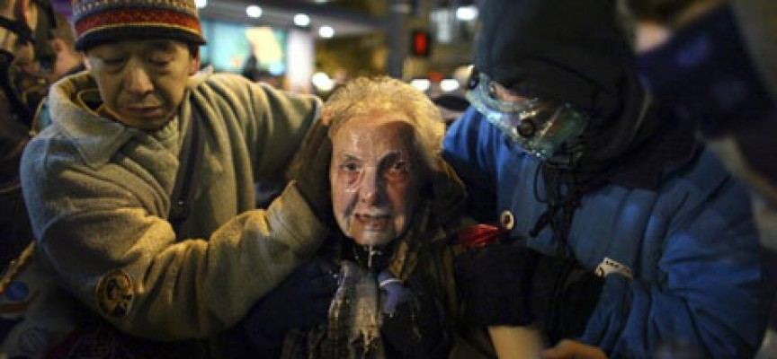 From Tahrir Square to Wall Street and the rest of the USA, the Empire bares its fangs (again)