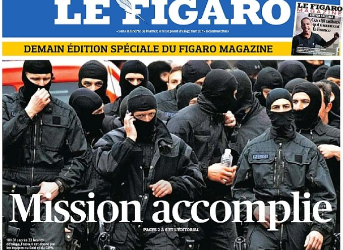 The French newspapers are really ridiculous…