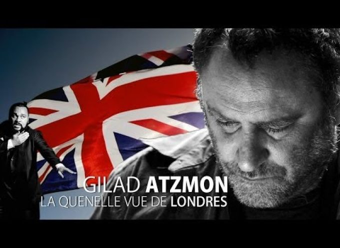 Gilad Atzmon's take on the Guenelle