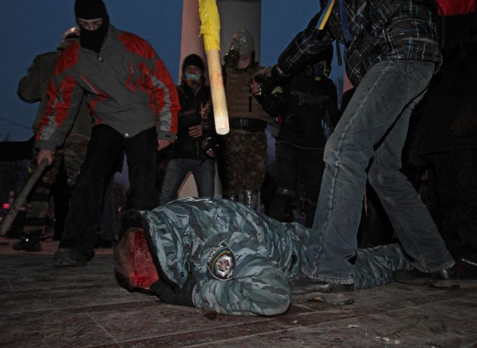 Images of the coup attempt in Kiev