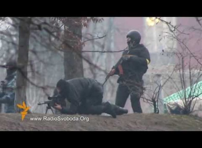 First evidence of assault-rifle and sniper rifles use by government forces