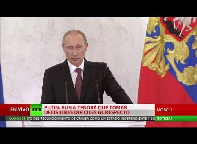 Putin's address to the Federal Assembly in German and Spanish