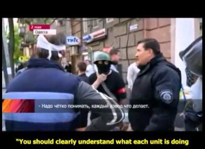 Massacre in Odessa (video with subtitles)