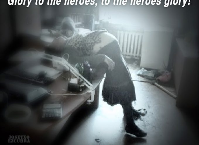 Glory to the heroes, to the heroes glory!