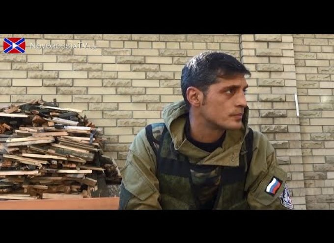 Novorussian field commander Givi talks about the Donetsk airport situation