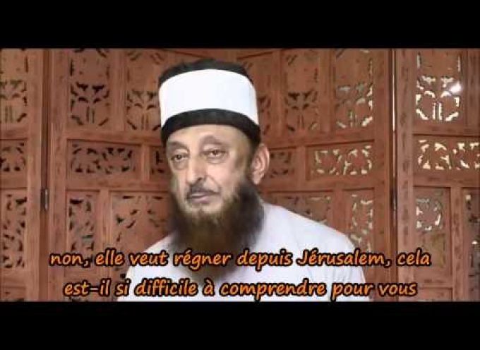 Message from Sheikh Imran Hosein to the French People