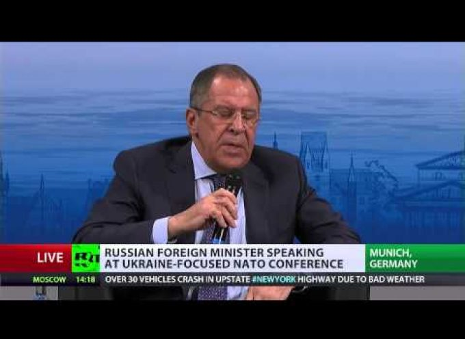 Very important speech by Foreign Minister Lavrov