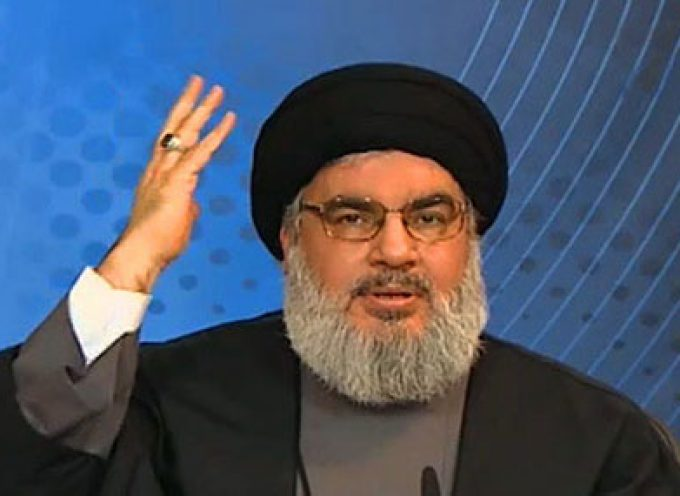 Hassan Nasrallah: Israel has come into direct confrontation with Iran