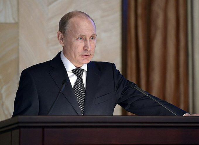 Vladimir Putin addresses the Federal Security Service Board Meeting