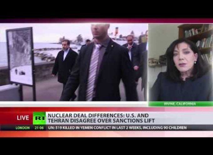 Soraya Sepahpour-Ulrich Discusses Iranian Nuclear Deal on RT International