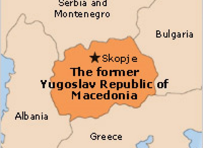 It has started or Wise up Macedonians!
