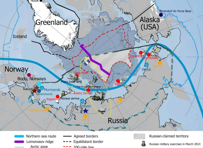 Russia moves to protect her Arctic interests