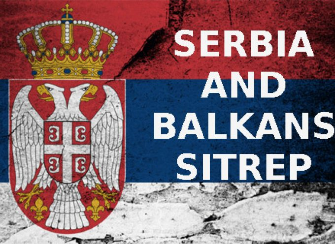 Serbian tyrant caught in a pincer, the stage is set for his spectacular fall