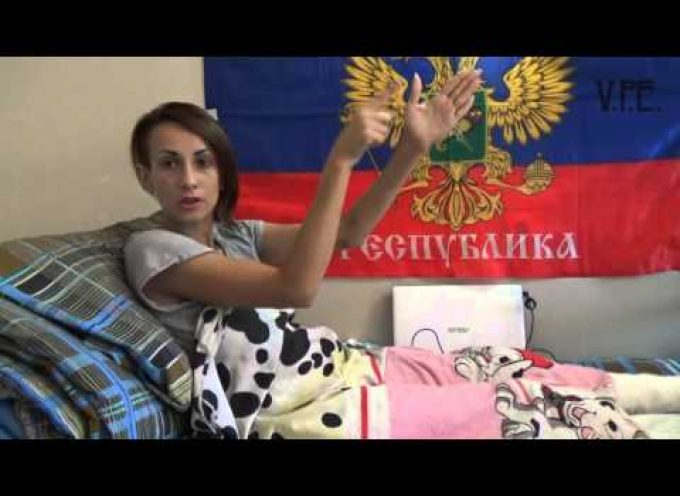 Vox Populi Evo video: the DPR Nurse Lost Her Leg Saving a Fighter | Eng Subs