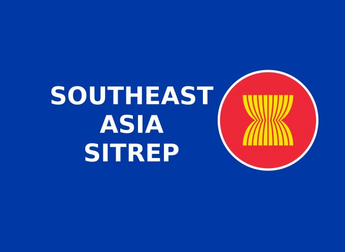 South East Asia SITREP October 12th, 2015 by Joseph K