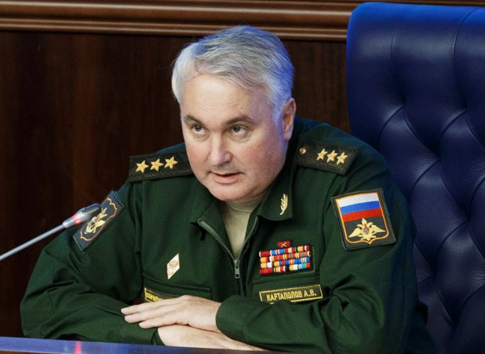 Interview with Colonel General Andrey Kartapolov: Russia may have a military base in Syria. It will be sea, air, and ground