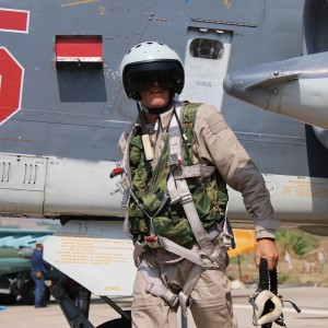 Russian pilot in Syria