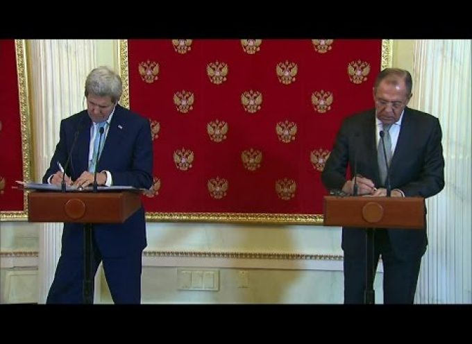 Secretary Kerry and Foreign Minister Lavrov Meet in Moscow