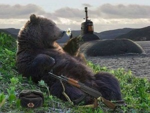 new russia bear