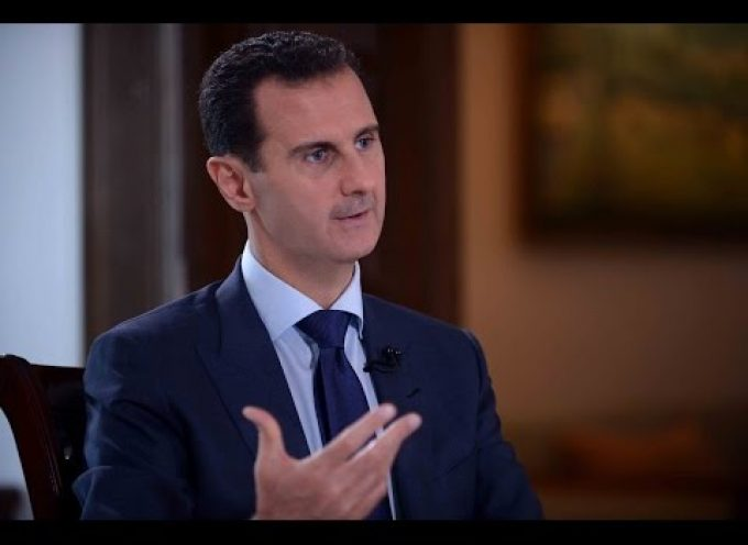 Syrian President al-Assad's interview with NBC News, July 14th, 2016