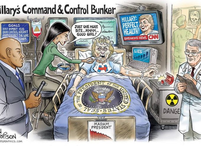 Hillary in perfect health!