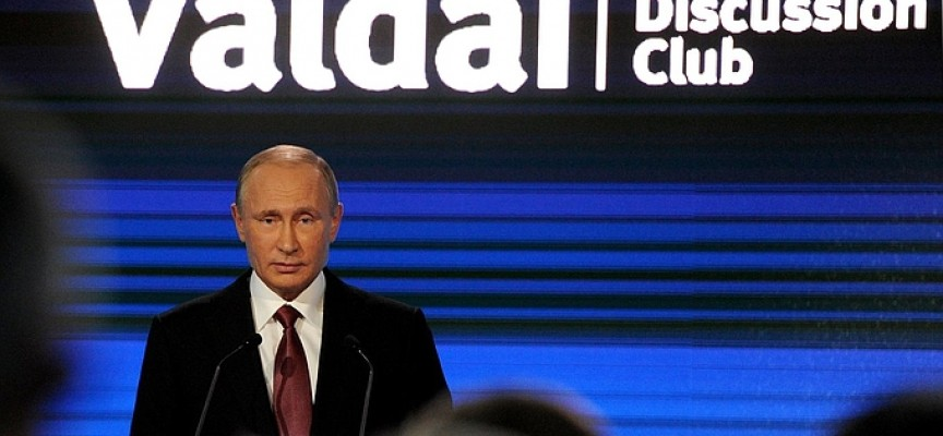 President Putin Meeting of the Valdai International Discussion Club